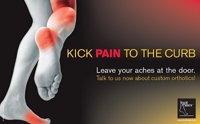 kick pain to the curb